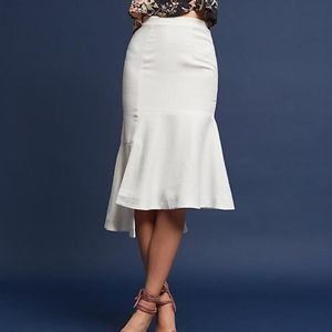 N12H Marisa Flounced Skirt | Anthropologie hi low
